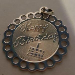 VTG TC Happy Birthday Charm